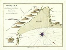 More details for antique map traeth coch or red wharf bay bar & harbour 1800 william morris