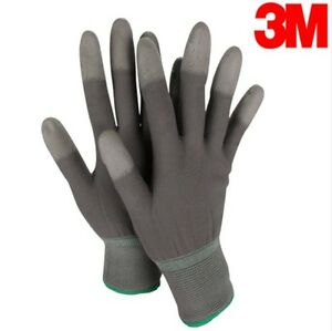 3M PU TOP Gloves 10 Pairs For General Works Precision Works PU TOPCoating Safety