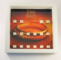 Minifigure Display Case Frame Lego Lord of The Rings LOTR Minifigs mini figures
