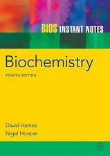 Biochemistry by David Hames (English) Paperback Book Free Shipping!