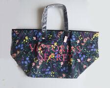 Victoria's Secret Black Floral Tote Bag - 2019 New Floral Weekender