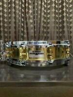 """YAMAHA SD935BS Brass Piccolo Snare Drum 14""""x3.5"""" 10-Tension Made in Japan"""
