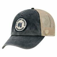West Virginia Mountaineers Hat Cap Adjustable Snapback Trucker Mesh Retro Logo