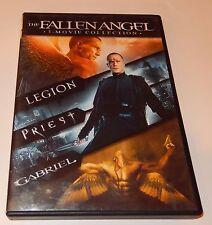 Legion/Priest/Gabriel The Fallen Angel Collection (DVD, 2013, 2-Discs) WS