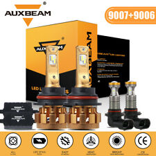 For 2003-2005 Dodge Ram 1500/2500/3500 AUXBEAM LED Headlight Bulbs HI/LO + Fog