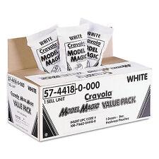 Crayola Model Magic Modeling Compound 8 oz White 6 lbs. 574418