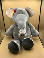 Large Nici Wild Friends Elephant Flowers Plush Soft Stuffed Toy Animal Doll