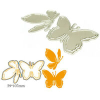 Butterfly Metal Cutting Dies Stencil for DIY Scrapbooking Paper Cards Decor _ti
