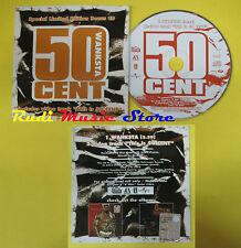 CD Singolo 50 CENT Wanksta PROMO italy CARDSLEEVE UNIVERSAL 5002774 (S12) mc dvd