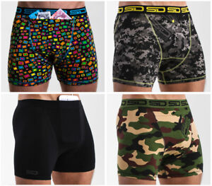The Core Collection 2.0 4 Pack from Smuggling Duds Boxer Shorts, Boxer Briefs