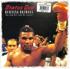"""Status Quo - Burning Bridges (On And Off And On Again) - 7"""" Record Single"""