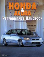 Honda Performance book covers Accord Civic CRX Si Del Sol VTEC -BRAND NEW COPIES