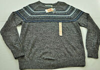 Men's Urban Pipeline sweater size large gray solid long sleeve crewneck pullover