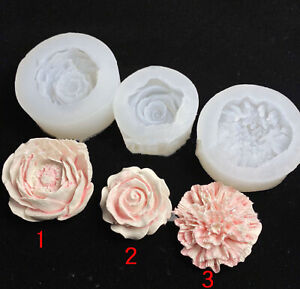 Rosen Blumen Silikon Harz Resin Silikonform epoxidform Epoxidharz Gießform Seife