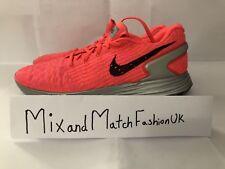 Nike Men's Lunarlon Flyknit Pink 677731-600 UK 9 EU 44 US 11.5