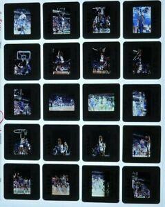 JTM3-9 1989 NBA New York Knicks Bucks Patrick Ewing Wilkins (28)ORIG 35mm Slides