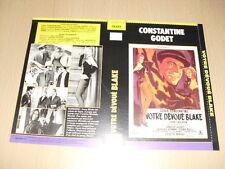 JAQUETTE VHS Votre dévoué Blake Eddie Constantine