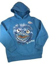 Skylanders Spyro's Adventure Bright Blue Giants Slam Bam Hoodie Shirt SZ 7 Youth