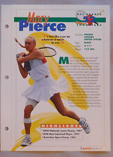 Mary Pierce #52 Tennis Champions Sports Heroes Booklet