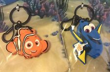 New Finding Dory Or Nemo LED Flashlight light Torch Lamp Keyring key ring Chain