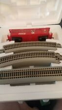 Hawthorne Village Coca Cola Santa Claus HO Scale Train Set and track