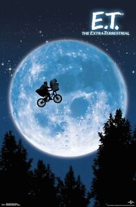 ET - THE EXTRA-TERRESTRIAL - CLASSIC MOVIE POSTER - 22x34 - 17838