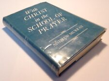 (1953) With Christ In The School Of Prayer - Andrew Murray - Vintage Hardback