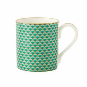 Fortnum & Mason 2 x Tea Coffee Mug (Eau de Nil)