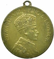 More details for 1937 coronation medal of the king edward viii beautiful collectible   #wt30159