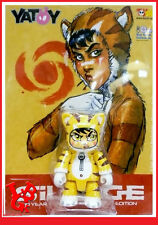 SILLAGE Qee NAVIS Houyo Yatoy BUCHET Morvan figurine attakus 2000 ex # NEUF #
