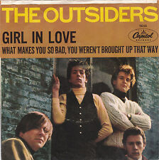 THE OUTSIDERS-CAPITOL  5646 ROCK 45RPM FROM 1966 GIRL IN LOVE WITH/PIC.SLV. VG++