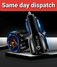 FOR Samsung Galaxy S8 S8+ S9+ S10 Note 8/ 9    Car Charger