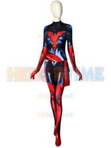 Dark Phoenix Costume X-men Jean Grey Dyesub Girls Superhero Costumes For Girl