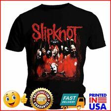 Official Slipknot T Shirt Band Frame Album Mens Black Rock Metal Tee Unisex NEW