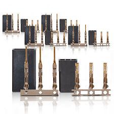JR Graupner Uni Plug Socket Servostecker Servobuchse Gold contact 5 Pairs part