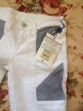 NEW Women's True Religion Jeans MOTO single end size 26 Skinny Stretch White