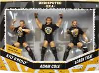 WWE Mattel Undisputed Era Epic Moments Elite Series Figures - Cole/Fish/O'Reilly