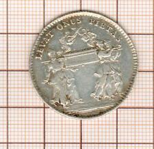 joli jeton argent 1715 assemblée du clergé