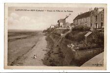 CPA-Carte Postale FRANCE -Langrunne sur Mer- Groupe de villas sur les Falaises e