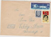DDR134) East Germany 1971 Lunokhod I; Walter Ulbricht; VIII Party Day Of The SED