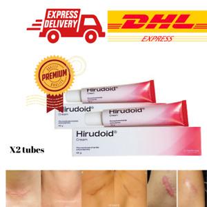 Scars Inflammation Care Hirudoid Cream Soft Smooth Skin Reduce Dark Spot Burns