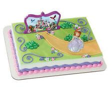 Sofia the First Princess cake decoration Decoset cake topper set toy favor