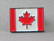 Canada / Canadian Flag Enamel & Metal Lapel / Pin Badge - 24mm BRAND NEW