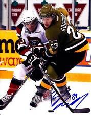 BARCLAY GOODROW SAN JOSE SHARKS SIGNED AUTOGRAPH 8X10 PHOTO PICTURE HOCKEY NHL