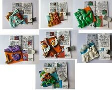 Kinder Surprise Puzzles  Noé - Hartplastik-Steckfpuzzle K98 n 9 à 14 + 16