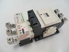 Schneider Electric 250Amp Contactor with Overload LC1D115 + LR9D5367