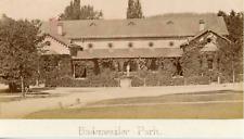 Allemagne, Maison dans un parc à Badenweiler, ca.1880, vintage albumen print Vin