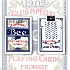 1 Blue Smith Back Erdnase 1902 playing cards by Conjuring Arts