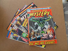 Journey Into Mystery  (vol 2) 1 - 5 Run (of 19)  . Marvel 1972 - 73