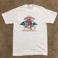 Vtg '91 Los Angeles Marathon Thin Single Stitch White T-Shirt Anvil Mens Medium